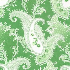 Rosewater - Vintage Paisley - Wintergreen from eQuilter.com