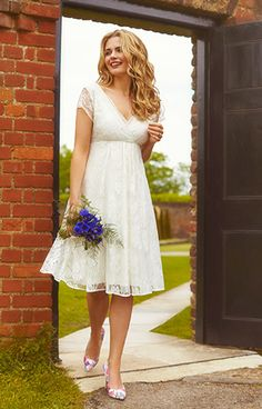 Evangeline Wedding Dress Ivory Dream by Alie Street