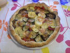 Torta salata con verdure grigliate!!!