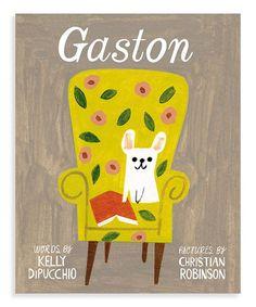 Look what I found on #zulily! Gaston Hardcover #zulilyfinds
