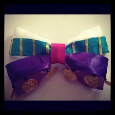 Disney Esmeralda Inspired Hair Bow by 500daysofdisney on Etsy, $9.75
