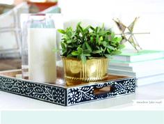 Produção decorativa. Leia esse post sobre ideias bacanas de composição de objetos na decoração