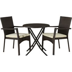 Three Posts™ Grampian 3 Piece Bistro Set