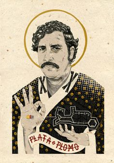 """nvm-illustration: """" nvm-illustration: """" Saint Pablo Escobar """" If anybody has time, I would highly suggest taking a look at this. Pablo Escobar Poster, Don Pablo Escobar, Pablo Escobar Quotes, Pablo Emilio Escobar, Arte Do Hip Hop, Hip Hop Art, Dope Cartoons, Dope Cartoon Art, Saint Pablo"""