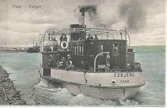 Fanø - Færgen