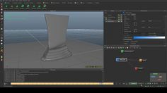 Tutorial how to make this one, https://vimeo.com/88492764 ... Just simulation and mesh. I am not experienced in tutorial recording, if you found this video useful, cool, if not, learn alone :) Feel free to ask questions, leave comment and share.  Cheers.