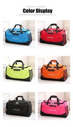 d06f20eb683 Professional Waterproof Large Sports Gym Bag With Shoes Pocket Men Women  Outdoor Fitness Training Duffle Bag Travel Yoga Handbag