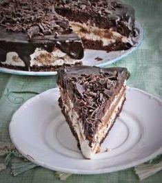 Tiramisu torta sütés nélkül (No Bake Tiramisu Cake) My Recipes, Cookie Recipes, Dessert Recipes, Favorite Recipes, Hungarian Cuisine, Hungarian Recipes, Food Cakes, Cupcake Cakes, Just Eat It