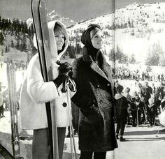 L'Officiel December 1962. 1960s fashion Ski bunny