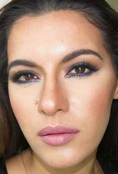 Make up by Rita Lopes: tutorial esfumado azul