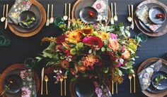 Coco+Kelly http://www.cocokelley.com/2014/10/setting-a-rich-table-for-fall/
