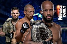 """Demetrious Johnson: """"If he (Cody Garbrandt) wants to come down and the UFC wants to give him an immediate title shot, because that's what they do nowadays, give immediate title shots , then that's fine. Or if I go up and challenge him for his belt if the negotiations go well, then yeah, it could happen. It's a fight. I've never, ever turned anybody down from coming to my weight class and trying to get my belt. I've never done it and it's not going to start now, it's never going to happen. If…"""