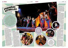 Circo de estrellitas. #Diseño #Editorial #Magazine #Layout