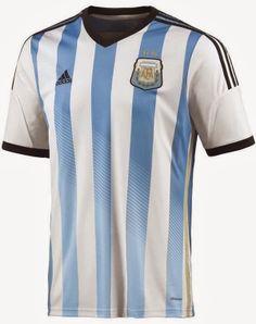 アルゼンチンがブラジルW杯に向けた新ユニフォームを発表!
