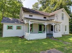16 Park St, Union Springs, NY 13160 | MLS #R1357783 | Zillow Seneca Falls, Pick Up Trash, Historic Architecture, Formal Living Rooms, Spring Home, Home And Family, Outdoor Structures, Park, House Styles