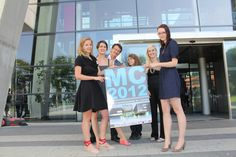 cyLEDGE team @ MC 2012 Salzburg, Conference, Events
