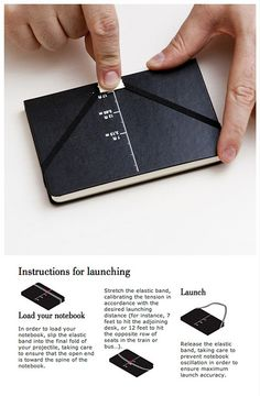 Moleskin launch instructions