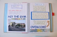 Smash weight loss book ideas- I need to make one of these.