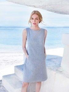 burda style: Damen - Kleider - Etuikleider - Shiftkleid - Nahttaschen