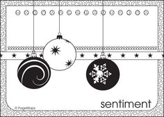 Christmas card maps