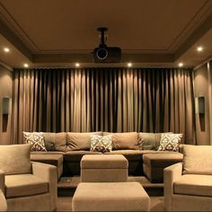 Media Room Home Theater Entrances Design, Pictures, Remodel, Decor and Ideas - page 20