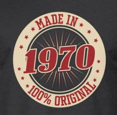 Birthday 1970 100 percent original Men's Premium T-Shirt ✓ Unlimited options to combine colours, sizes & styles ✓ Discover T-Shirts by international designers now! Teenage Girl Birthday, 2nd Birthday Boys, Dad Birthday Cakes, Birthday Themes For Boys, Happy 50th Birthday, Happy Birthday Greetings, Vintage Birthday, Funny 50th Birthday Quotes, Adult Party Themes