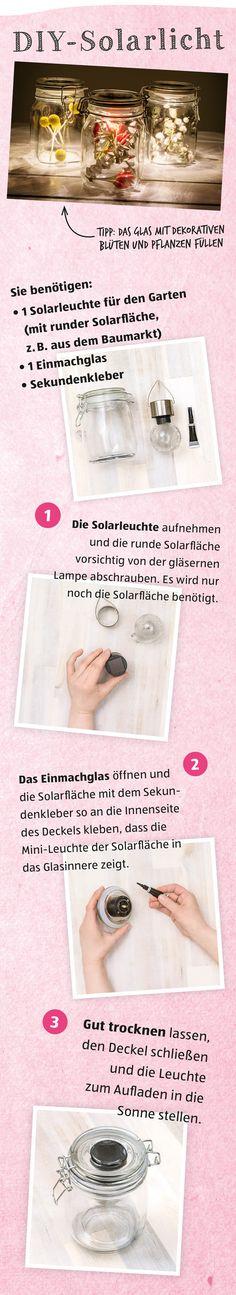 DIY-Solarlicht - so funktioniert's!