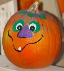 pumpkin face painting ideas - Google Search Happy Halloween every one :)