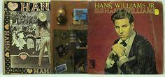 Hank Williams Jr LP Vinyl Record Lot: Greatest Hits Vol II + Sings the Songs of #records