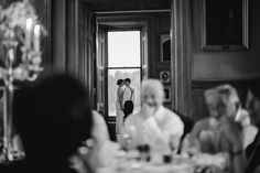 a stolen moment. Black tie, 1920s wedding. Castle Leslie Wedding
