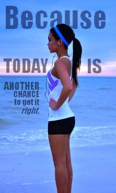 Another Chance....Every day is a new day, and chance to change or tweak things about yourself! Don't allow your mind and spirit to stay in a funk because you failed yesterday!