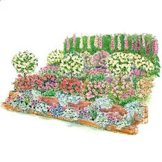 Fragrant Slope Garden Plan Conquer a tough-to-mow slope and turn it into a fragrant retreat with this gorgeous garden plan.