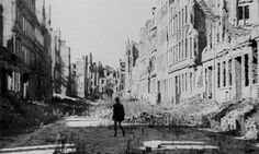 ROBERTO ROSSELLINI GERMANY, YEAR ZERO, 1947 … berlin after world war II - a city of skeleton buildings. the once so radiant metropolis turned into the wild. people would do anything to survive and children appear worn out and troubled. Roberto Rossellini, Germany And Italy, Movie List, Film Movie, World War Ii, Short Film, Good Movies, Survival, Street View
