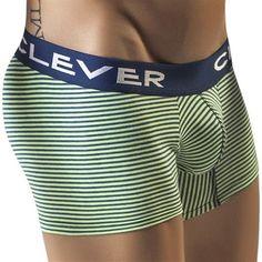 Exclusieve heren boxershorts. http://www.lingerie-4-men.com/brands/clever.html