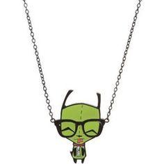 invader zim nerd necklace!!  Hahaha that's me :p