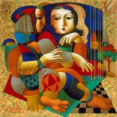 Friends by Oleg Zhivetin