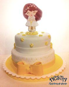 Communion girl cake