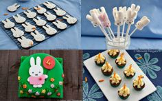 Georgia's 4th Birthday - a Miffy/Bunny themed party!