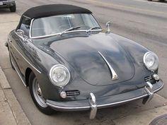 Grey Porsche 356