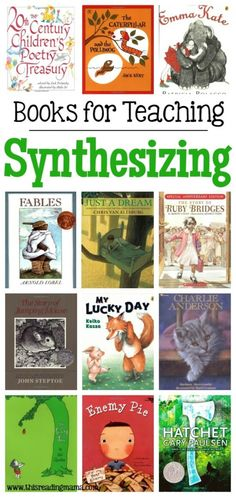 Books for Teaching Synthesizing by This Reading Mama