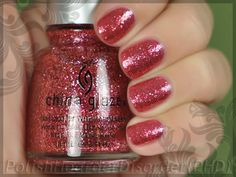 China Glaze - Mrs. Claus.