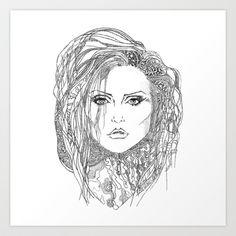 Deborah (Debbie) Harry of Blondie Art Print by Francesco Carli - $16.64