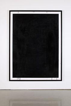 framed drip, black and white