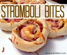Stromboli Bites