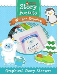 Story Pockets - Cut-out Story Starters for Winter $