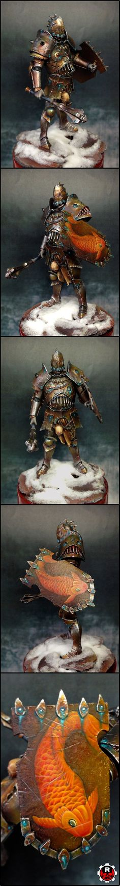 Love the metallics on this fig.
