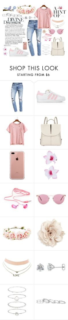 """Spring"" by jeca09 ❤ liked on Polyvore featuring Abercrombie & Fitch, adidas, Kin by John Lewis, Belkin, Accessorize, Charlotte Russe, Oliver Peoples, Forever 21, Cara and Kendra Scott"