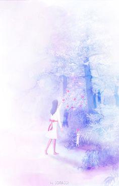 '너는 추운 겨울에 그렇게 꽃을 피우는 구나 네게는 벌써 봄이 온거니?'  겨울에 피는 동백꽃은 참 신비한 것 같아요ㅎ