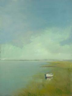 Одинокая лодка Энн Паккард - Ярмарка Мастеров - ручная работа, handmade