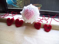 Cats-Rockin-Crochet, Free Crochet and Knit Patterns: Crochet Quick and Easy Heart Patterns